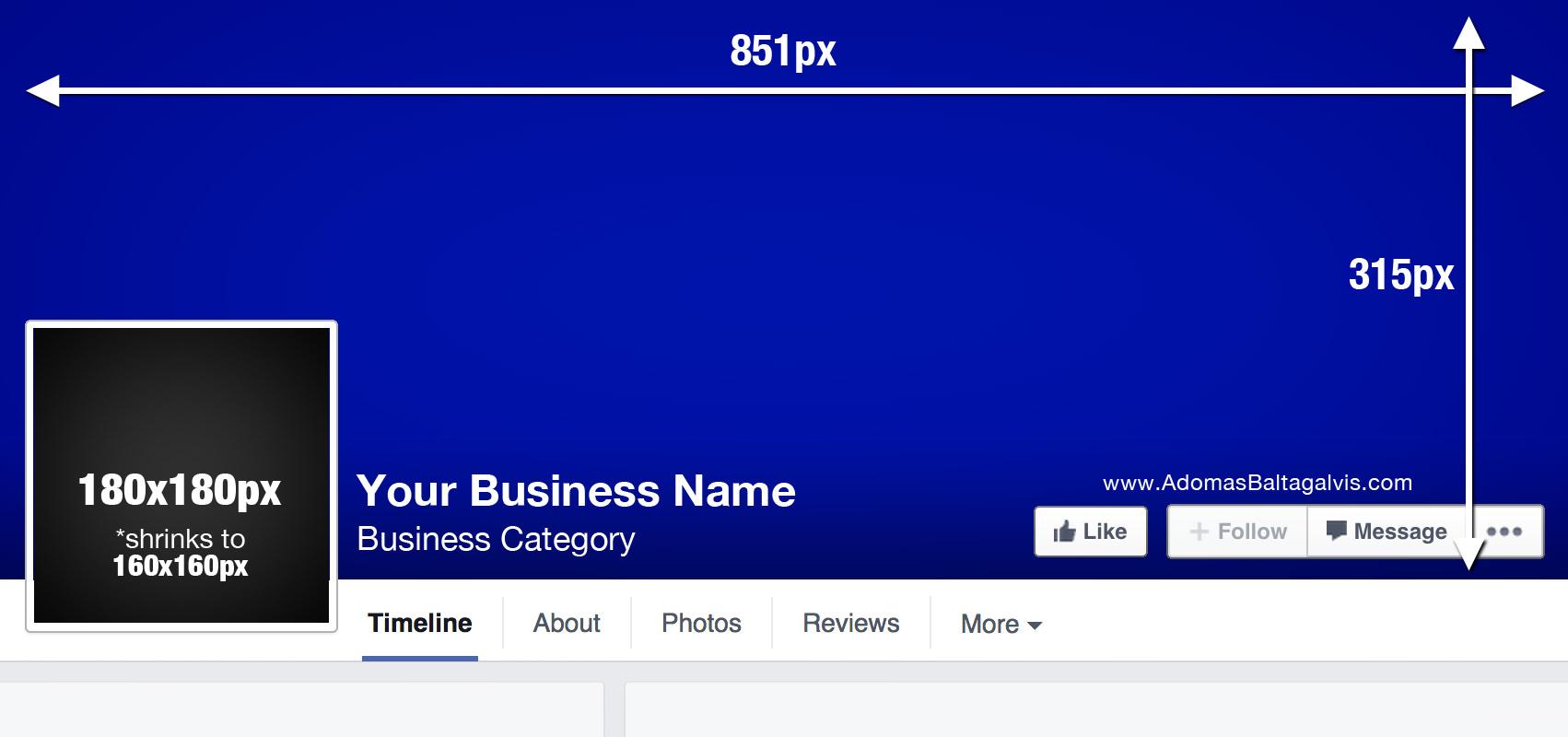 Facebook cover photo dimensions, profile picture design measurements ...